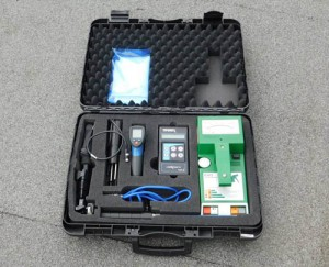 Tramex Roof Inspection Kit - non-destructive checking of moisture