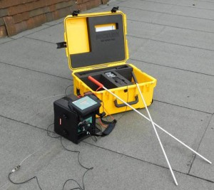 Dry Roof Pro - non-destructive impedance scanner