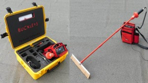 Wet Roof Pro - flat roof leak detection kit